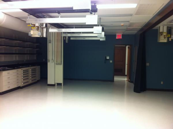The main lab space before moving in.